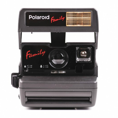 Polaroid 636 Family Close Up