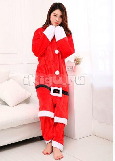 Главная   Пижамы кигуруми   Санта Клаус. Распродано. –34% 76804dd9c4f81