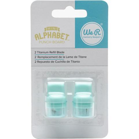 Сменные ножи для досок Mini Alphabet Punch Board и Tag Punch Board
