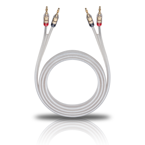 Oehlbach Silverline Speaker Cable 2x2,5mm Banana solution 3.5m, кабель акустический