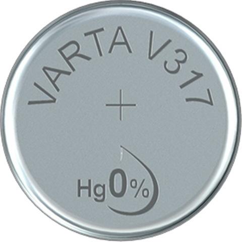 Батарейки часовые Varta SR317SW-B1 (317)