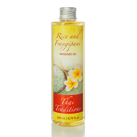 Thai Traditions Масло массажное Рис и Франжипани Rice and Frangipani massage oil