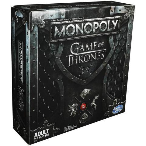 Hasbro: Игра настольная Монополия Игра престолов E3278 — Monopoly Game of Thrones — Хасбро