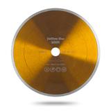 Алмазный диск Messer Yellow Line Ceramics со сплошной кромкой. Диаметр 230 мм.