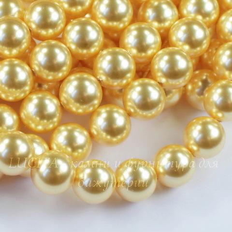 5810 Хрустальный жемчуг Сваровски Crystal Gold круглый 10 мм ()