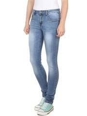 A196 джинсы женские, синие