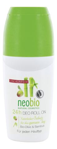 Deodorant Roll-on /дезодорант шариковый 24 часа с био-оливой и бамбуком 50 мл ( Neobio)