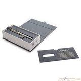 Перьевая ручка Parker Sonnet Core F527 St Steel GT в коробке (1931504)