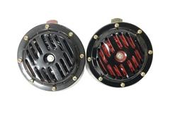 Сигнал Super Horn 1036 черный+красный (JS-D25 12V)