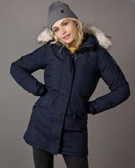 Удлинённая мембранная Куртка-Парка Женская 8848 Altitude Derica Navy