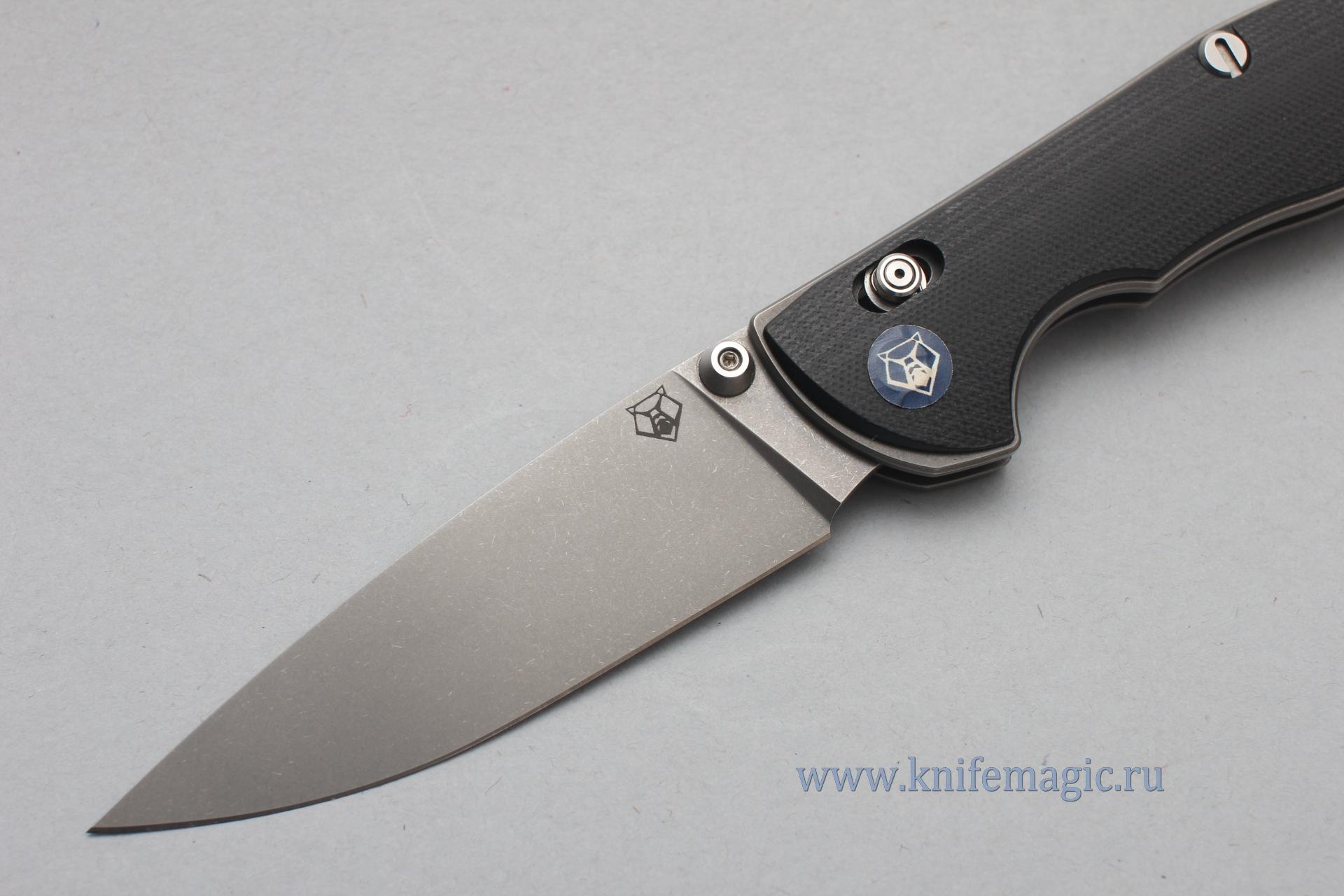 Нож Широгоров Табарган 100NS vanax 35 G10 черная