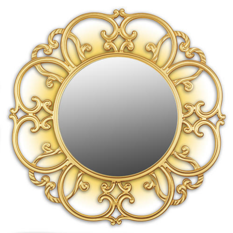 Зеркало TIFFANY (gold)