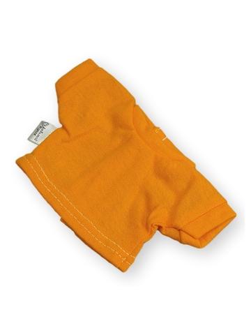 Футболка - Оранжевый. Одежда для кукол, пупсов и мягких игрушек.