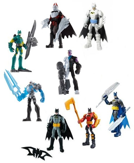 Batman Power Attack Mission Figure Series 02