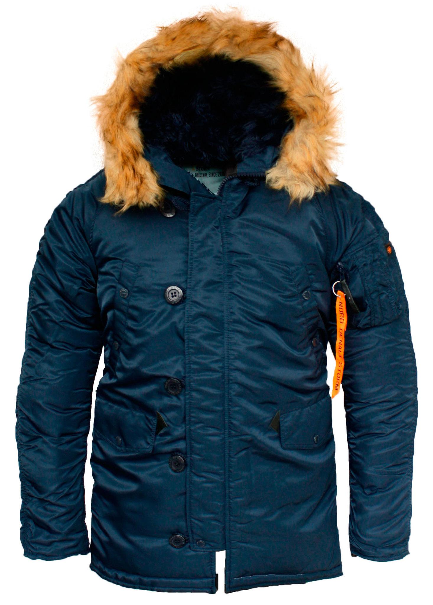 Куртка Аляска N-3B  Husky Denali (т.синяя - ink/ink)