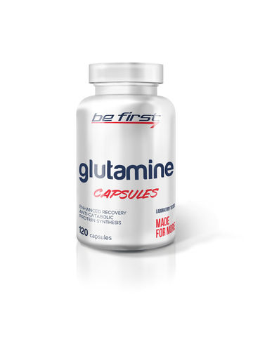 Глютамин Be First Glutamine 120 капс