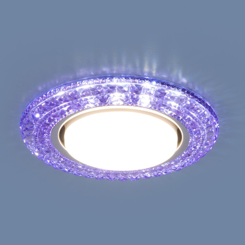 Точечный светильник со светодиодами 3030 GX53 VL фиолетовый