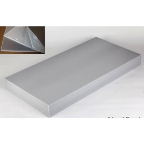 негорючая  акустическая панель ECHOTON FIREPROOF 100x50x10cm  из материала  BASOTECT серый с адгезивным слоем