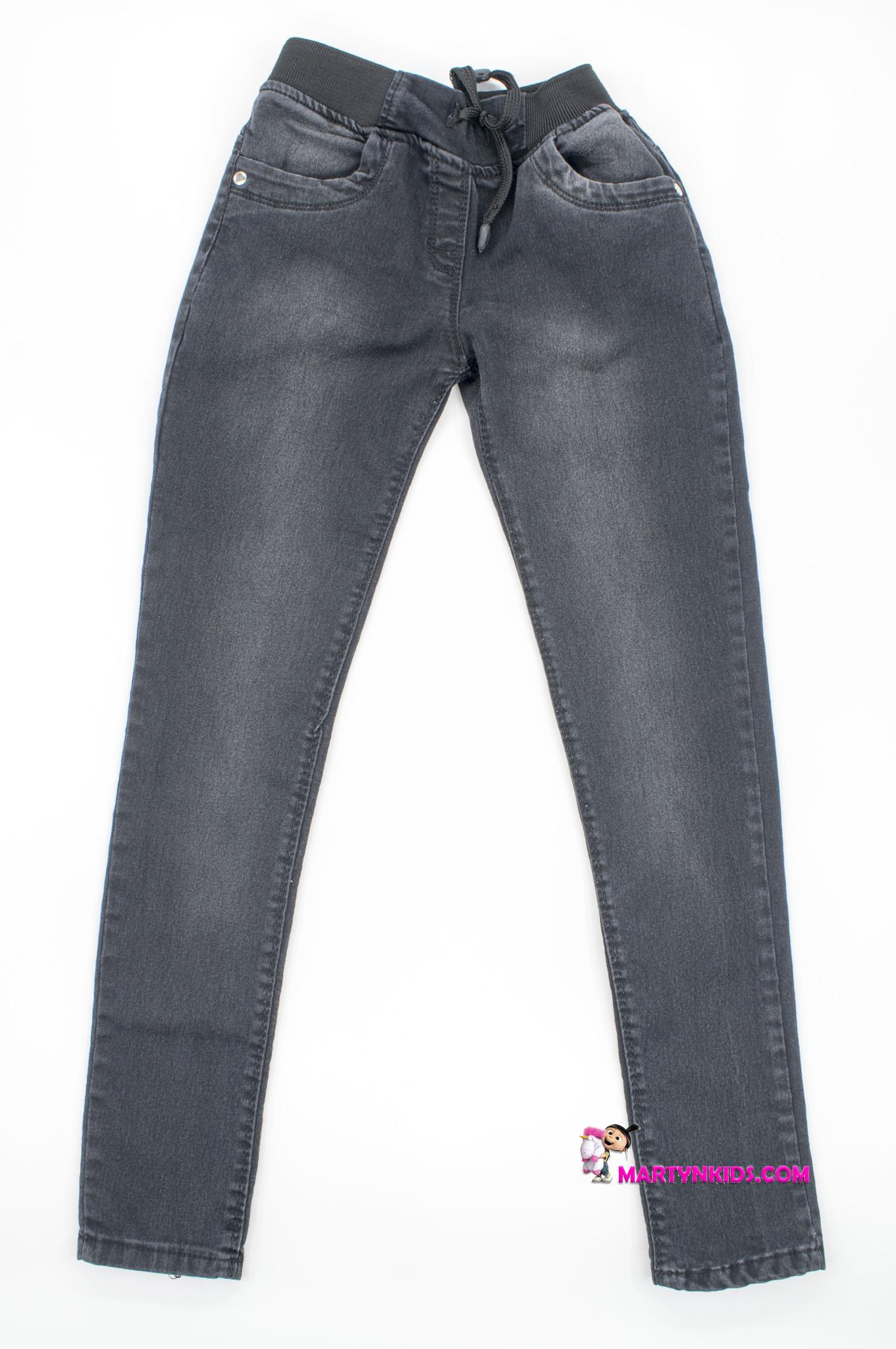 2370 джинсы на резинке