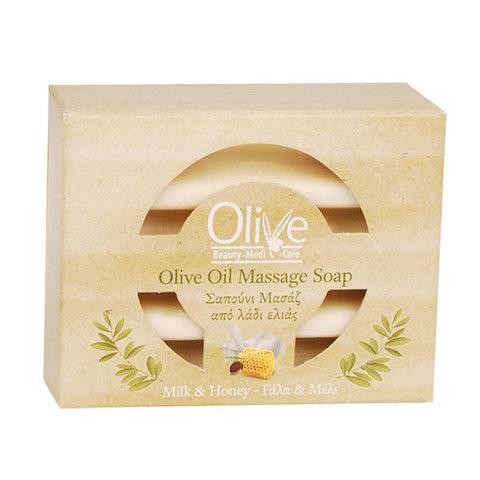 Массажное оливковое мыло с медом Olive Beauty Medi Care 100 гр