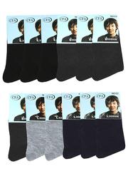 NOC2 носки подростковые 35-40, цветные (12шт)