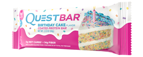 Quest Nutrition Quest Bar Birthday Cake