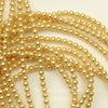 5810 Хрустальный жемчуг Сваровски Crystal Gold круглый 3 мм, 10 шт