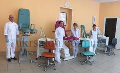 Педикюрно-косметологическое кресло FUT-PROFI-1