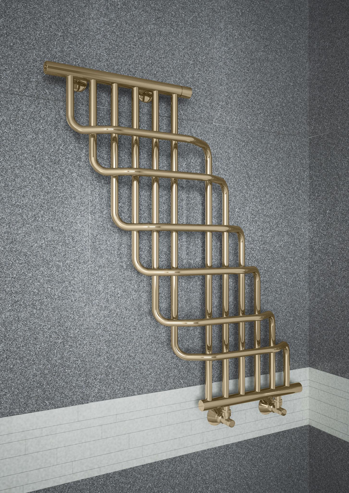 Niagara Bronze - бронзовый полотенцесушитель