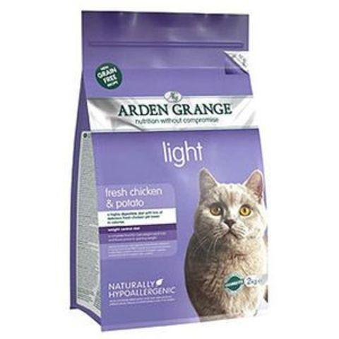 АРДЭН ГРЭНЬДЖ Корм сухой беззерновой для взрослых кошек Диетический Курица/картофель 4 кг.