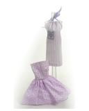 Два хлопковых платья - Сиреневый. Одежда для кукол, пупсов и мягких игрушек.