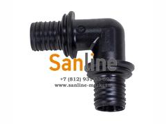 Угол Sanline 90гр 40мм (PPSU)