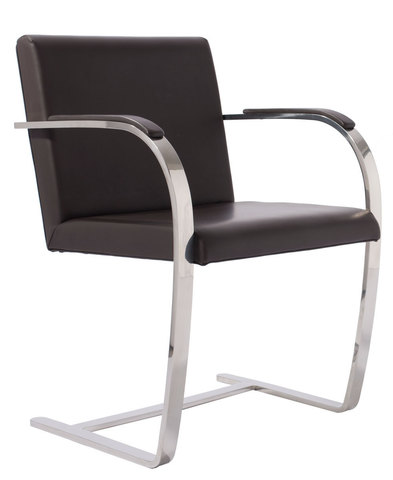 кресло  brno chair ( кожа)