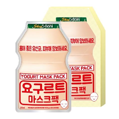 Маска сет Skin'S Boni Yogurt Mask Pack 25ml  10 шт.