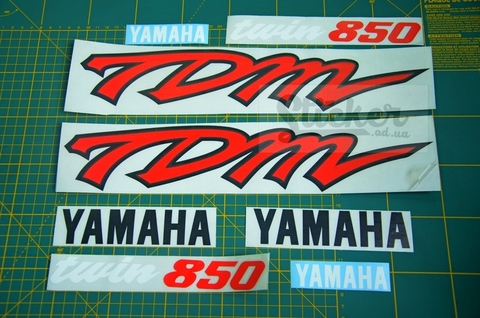 Наклейки на мотоцикл YAMAHA TDM 850