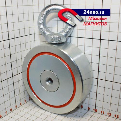 Поисковый магнит F-300х2