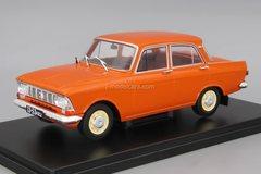 Moskvich-412 red 1:24 Legendary Soviet cars Hachette #21