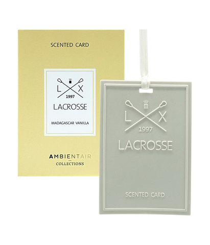 Карточка ароматическая Мадагаскарская ваниль, Ambientair