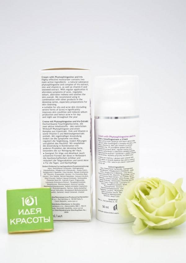 Ryor Aknestop Крем с фитосфингозином и ирисом для проблемной кожи