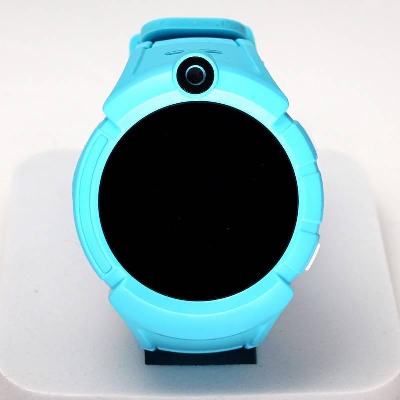Детские GPS часы Smart Baby Watch Q360 с фонариком (голубой / без SIM карты)