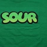 Зеленая футболка sour фото 2