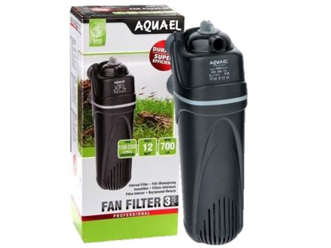 AQUAEL Помпа фильтр FAN-3 plus (150-250л) 700л/ч 12Вт