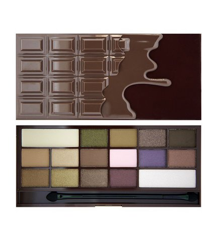 Палетка теней Makeup Revolution I ♡ Makeup I Heart Chocolate (UK)