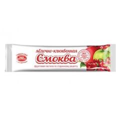 Пастила СМОКВА яблочно-клюквенная, 30 гр. (Эко пастила)