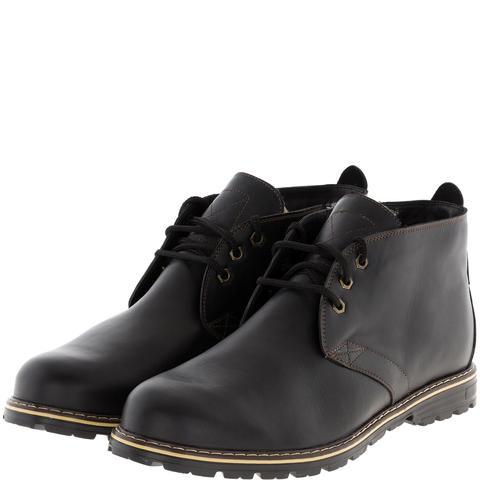 565483 ботинки мужские черные кожа. КупиРазмер — обувь больших размеров марки Делфино