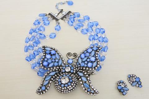 Брошь-колье «Бабочка» от Larry Vrba