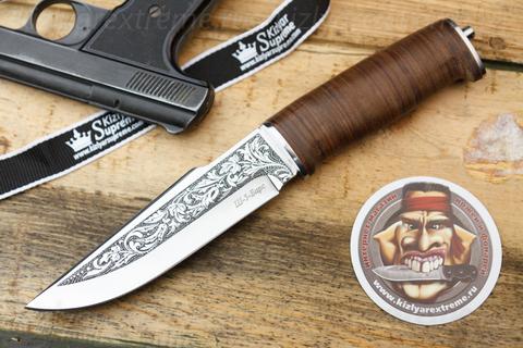 Туристический нож Ш-5 Барс Рукоять Кожа