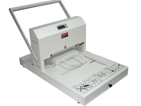 Термопресс для горячего тиснения OPUS GOLDPRESS 4+: Площадь печки 50 x 180 мм, рабочая температура 0 – 150 С.