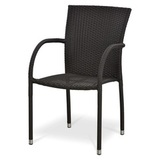 Плетеный стул Y282A-W52 Brown