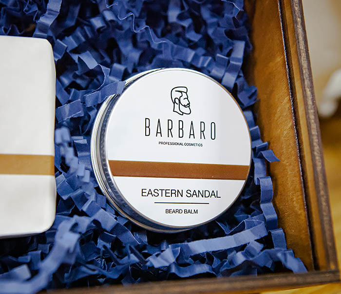 Набор для ухода за бородой «Eastern Sandal» мыло и бальзам фото 04